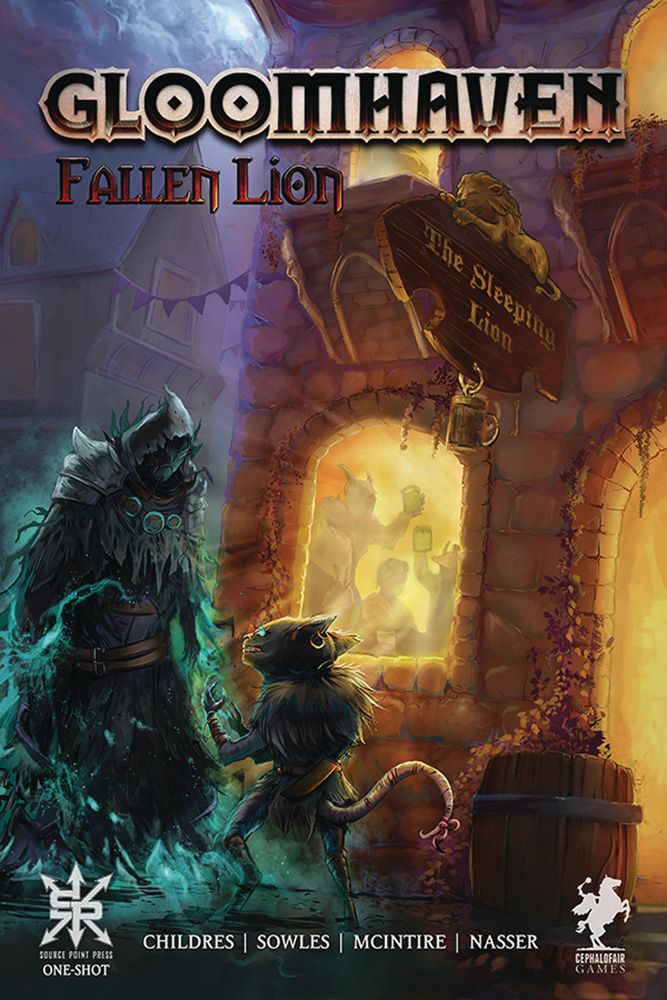 Image: Gloomhaven: Fallen Lion Oneshot  - Source Point Press