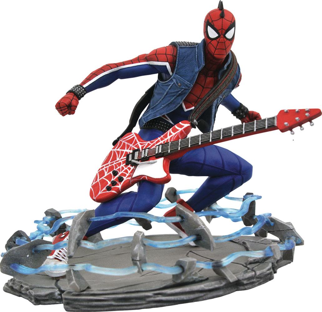 Marvel Gallery PVC Statue: PS4 - Spider-Punk  - Diamond Select Toys LLC