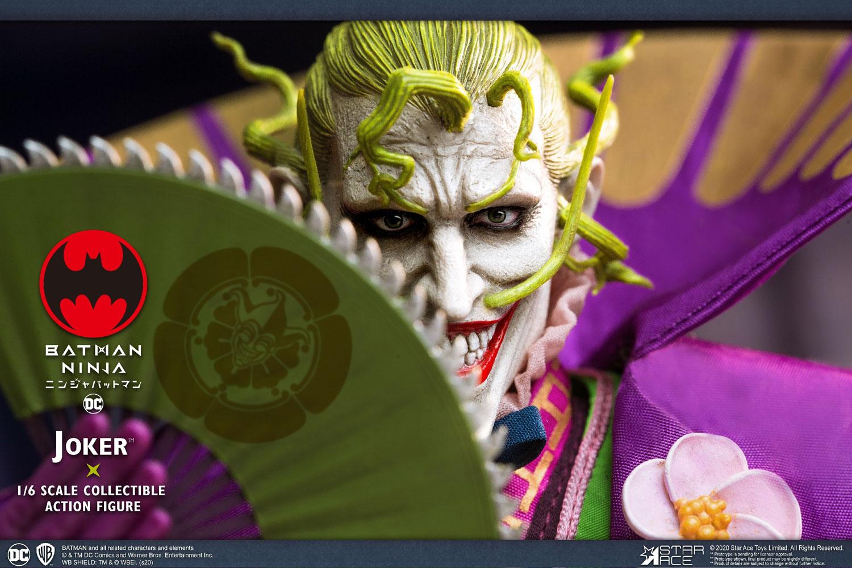 Batman Collectible Action Figure: Ninja Joker  (1/6 scale) - Star Ace Toys Limited