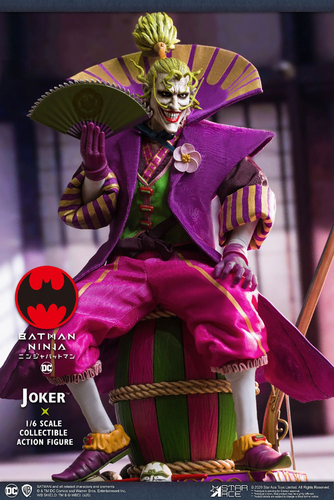 Batman Collectible Action Figure: Ninja Joker  (Deluxe version) (1/6 scale) - Star Ace Toys Limited