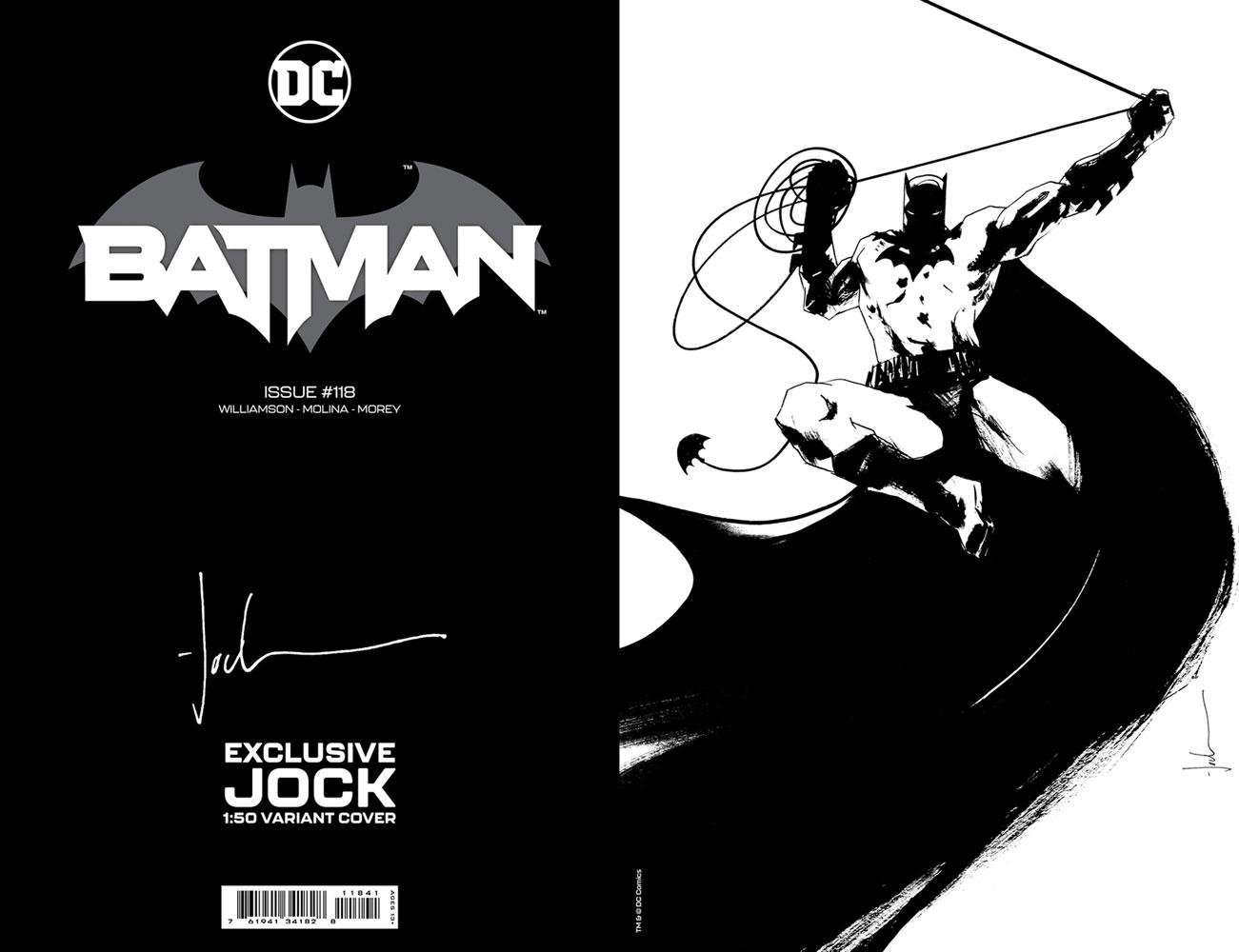 Batman #118 (incentive 1:50 card stock cover - Jock) - DC Comics