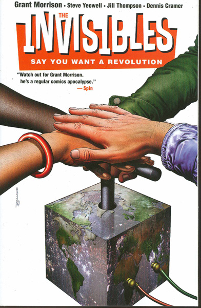 Image: Invisibles Vol. 01: Say You Want a Revolution SC  - DC Comics