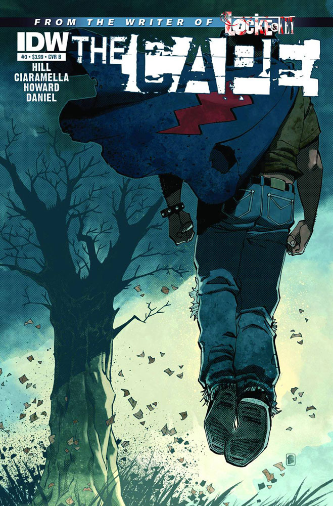 Image: Joe Hill: The Cape #3 (10-copy incentive cover) - IDW Publishing