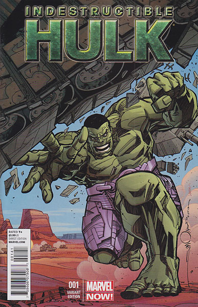 Image: Indestructible Hulk #1 (Now) (Simonson variant cover) - Marvel Comics