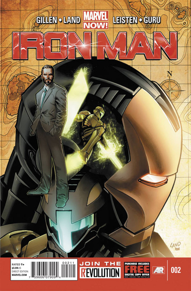 Image: Iron Man #2 (Land variant cover) (v50) - Marvel Comics