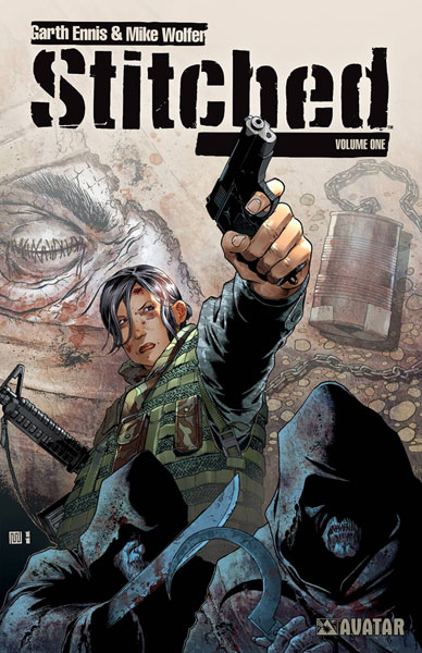 Image: Stitched Vol. 01 SC  - Avatar Press Inc