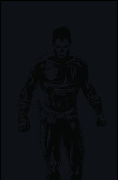 Image: Shadowman #1 (Pullbox Blackout cover) - Valiant Entertainment LLC