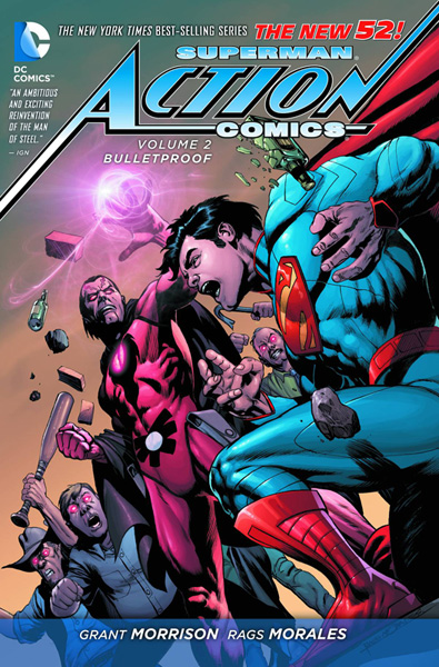 Image: Superman - Action Comics Vol. 02: Bulletproof SC  (N52) - DC Comics