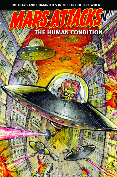 Image: Mars Attacks: The Human Condition SC  - IDW Publishing