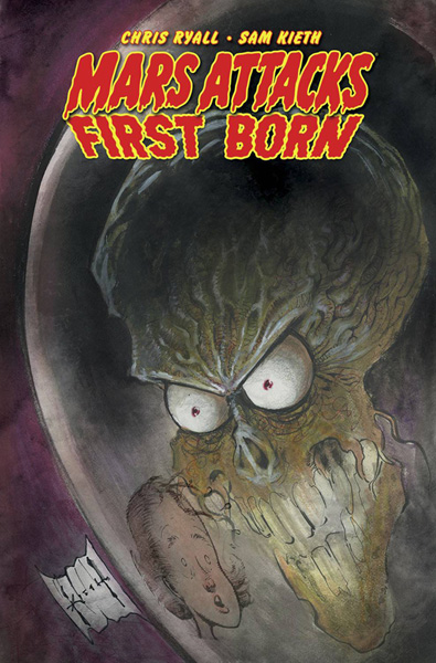 Image: Mars Attacks: First Born SC  - IDW Publishing