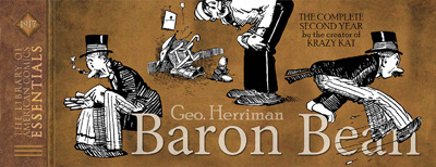 Image: Library of American Comics Essentials Vol. 06: Baron Bean 1917 HC  - IDW Publishing