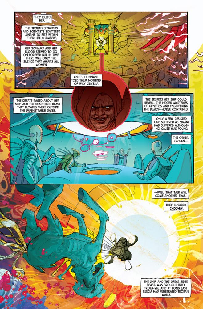 ODY-C #1 - Image Comics