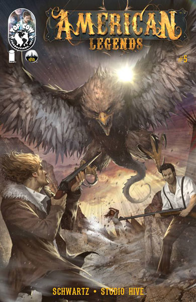 Image: American Legends #5 - Image Comics - Top Cow