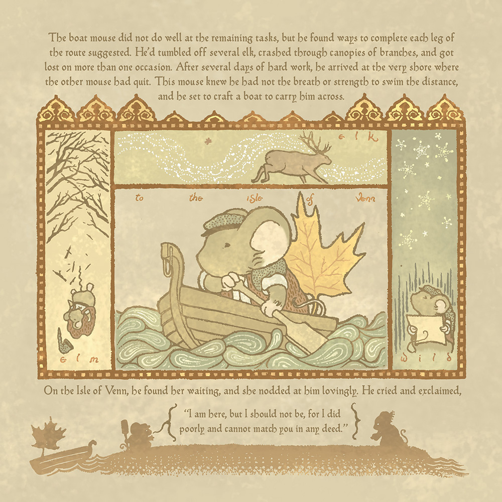 Mouse Guard: Baldwin The Brave and Other Tales HC  - Boom! Studios