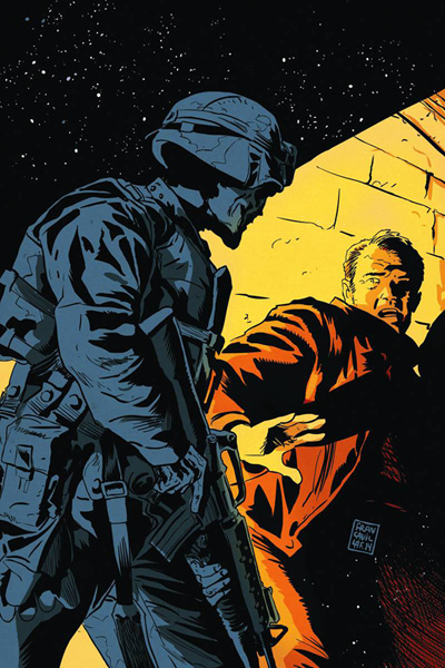 Image: Twilight Zone #11 (variant incentive cover - Francavilla Virgin) (50-copy) - Dynamite