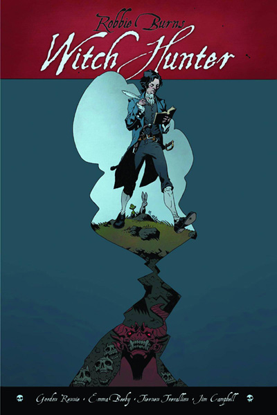 Image: Robbie Burns: Witch Hunter HC  - Renegade Arts Entertainment