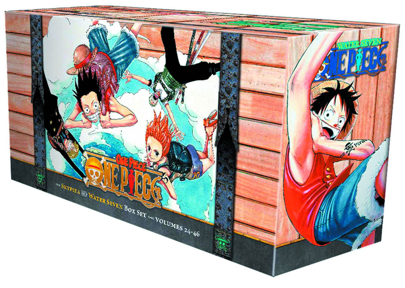 Image: One Piece: Skypeia and Water Seven Manga Box Set Vol. 02 GN  - Viz Media LLC