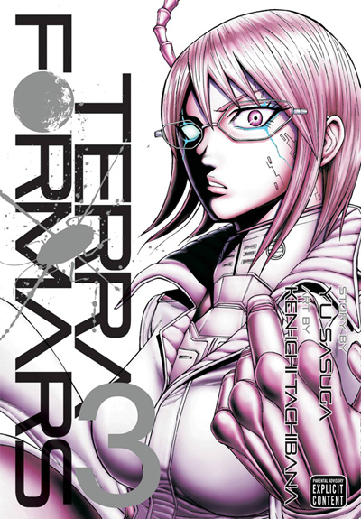 Image: Terra Formars Vol. 03 GN  - Viz Media LLC