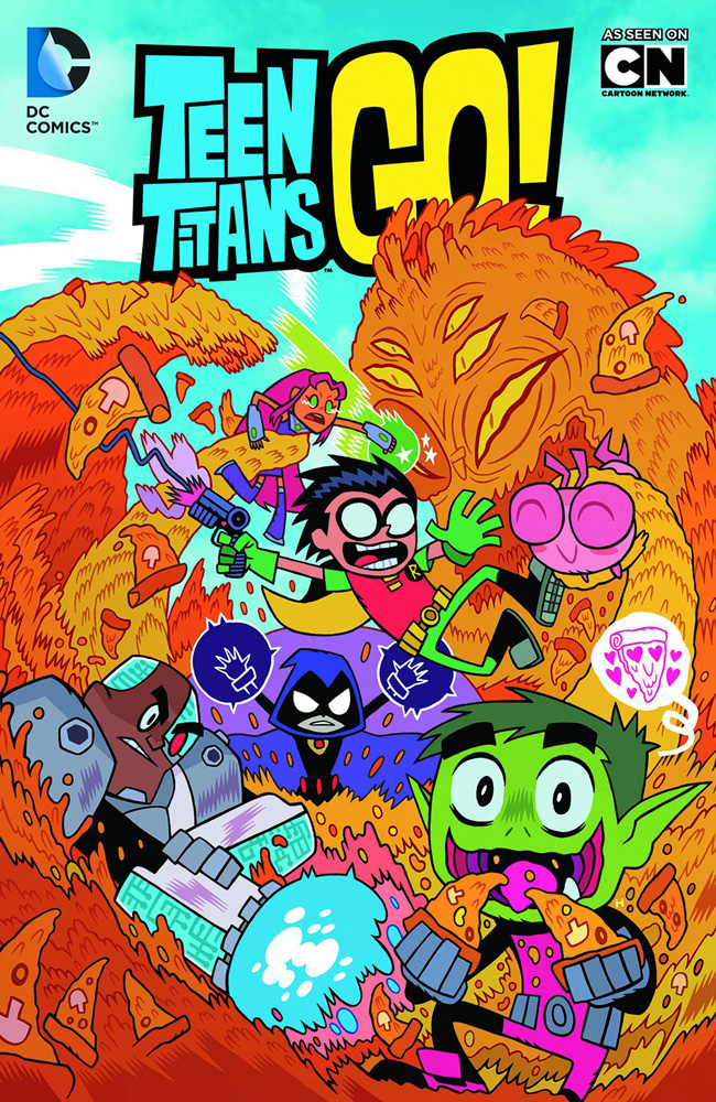 Image: Teen Titans Go!: Truth, Justice, Pizza! SC  - DC Comics
