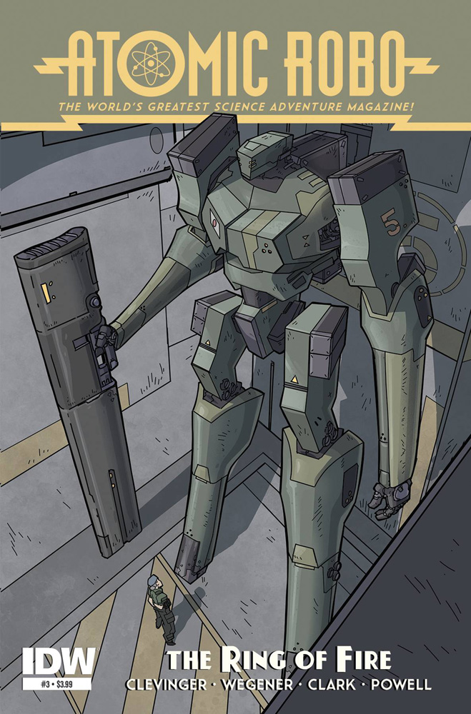 Image: Atomic Robo and the Ring of Fire #3 - IDW Publishing