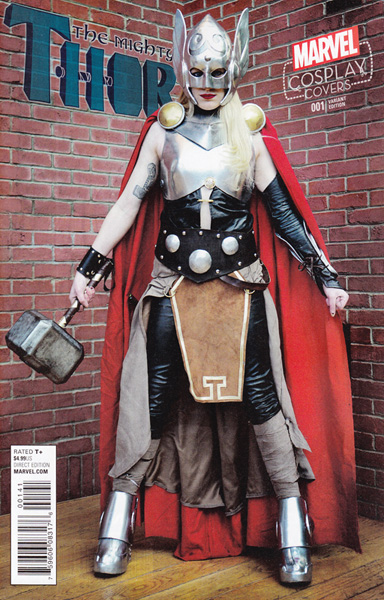 Image: Mighty Thor #1 (Cosplay variant cover - 00141) - Marvel Comics