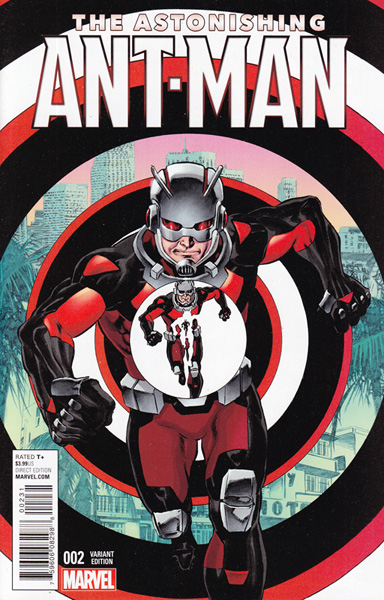 Image: Astonishing Ant-Man #2 (variant cover - Perkins) - Marvel Comics