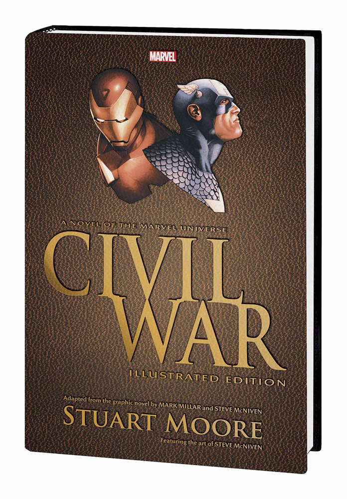 Image: Civil War Illustrated Edition Prose Novel HC  - Marvel Comics