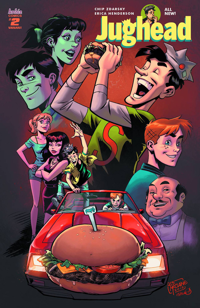 Image: Jughead Vol. 03 #2 (cover E - McClaine) - Archie Comic Publications