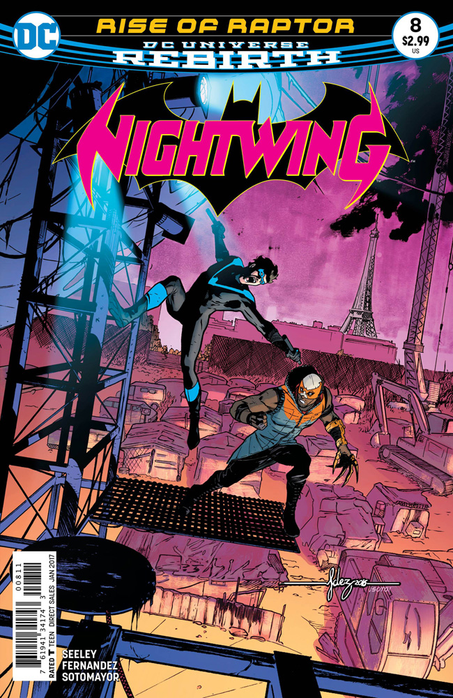 Image: Nightwing #8  [2016] - DC Comics