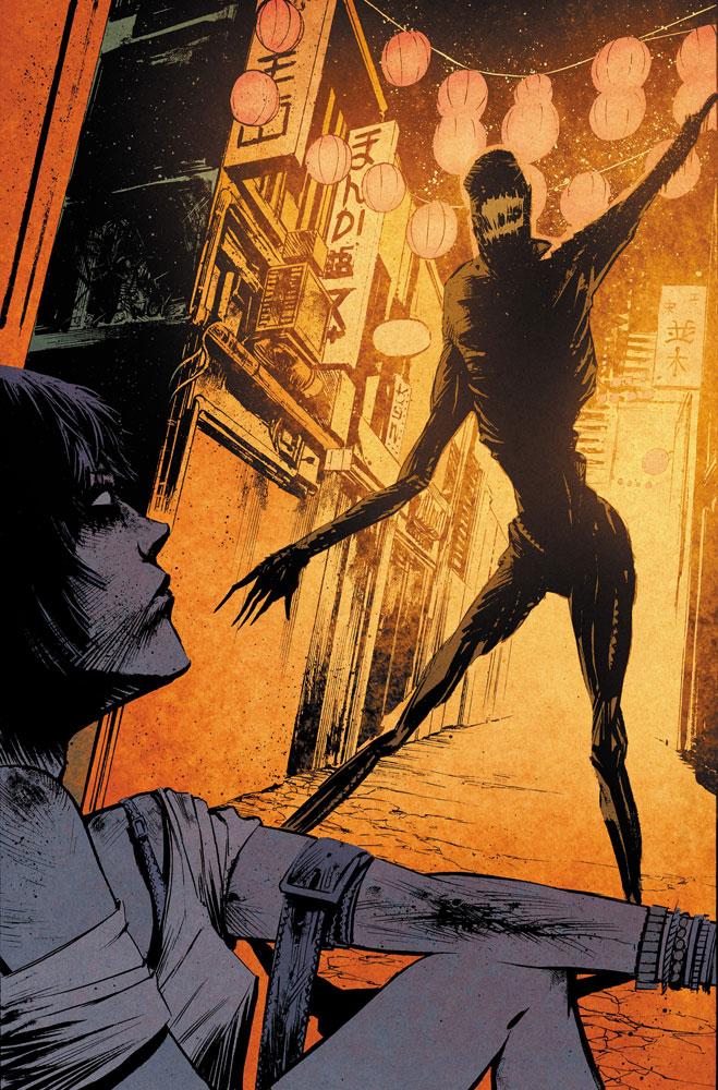 Yakuza: Demon Killers #1 (incentive cover - Josh Hixon) (10-copy)  [2016] - IDW Publishing