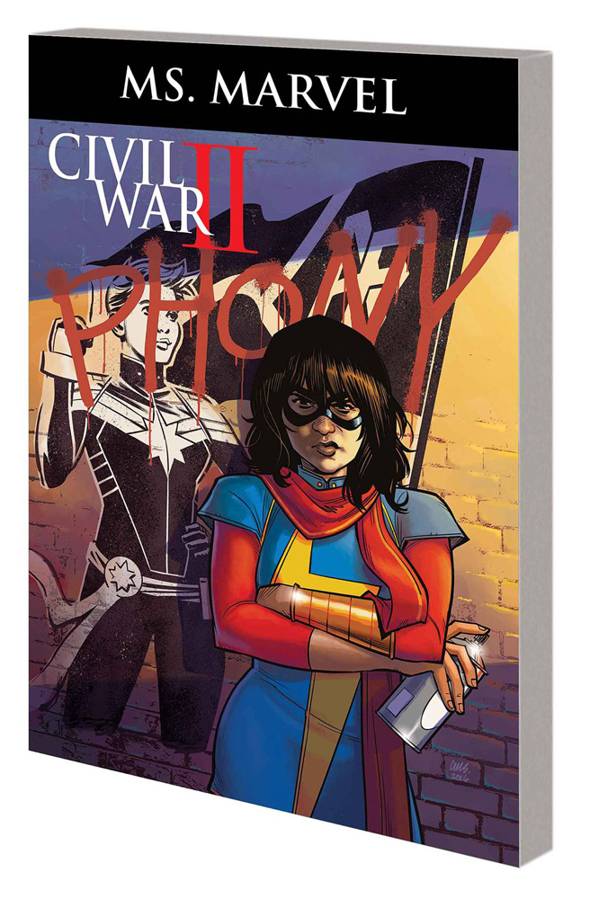 Image: Ms. Marvel Vol. 06: Civil War II SC  - Marvel Comics