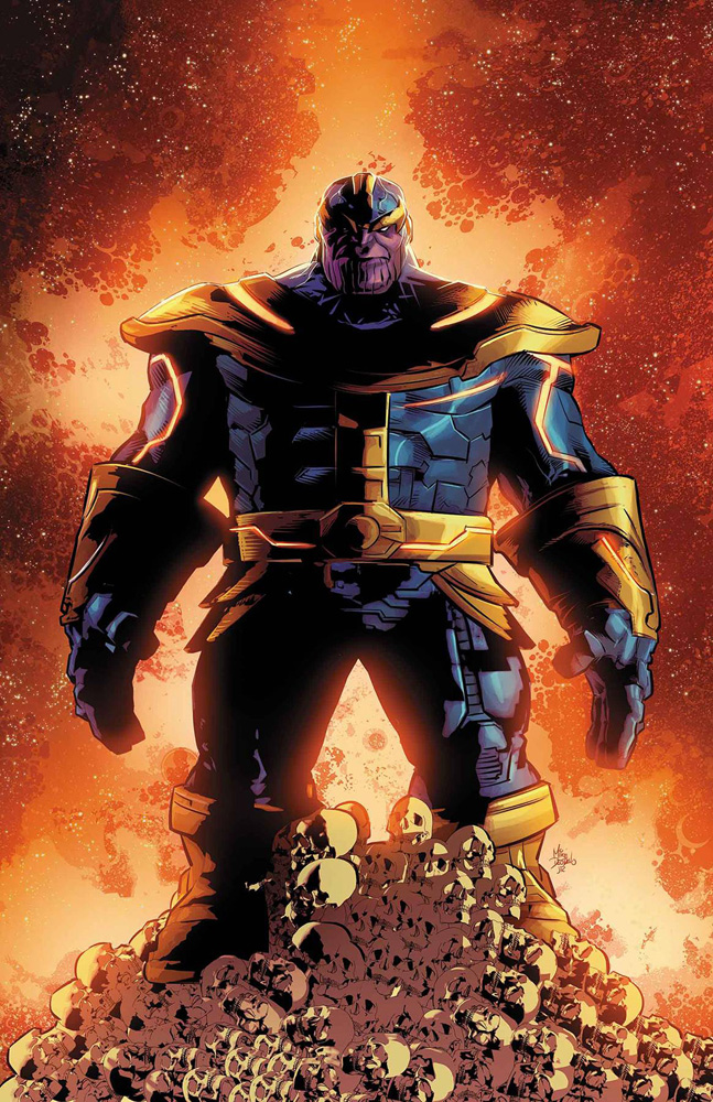Image: Thanos by Deodato Poster  - Marvel Comics