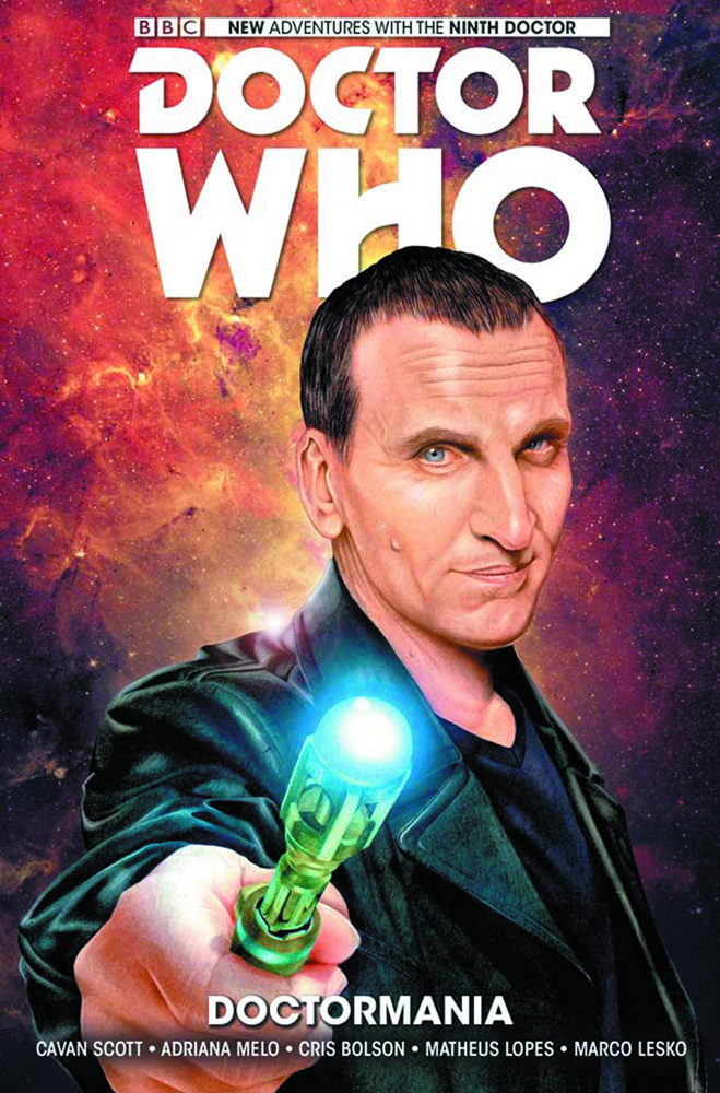 Image: Doctor Who: The Ninth Doctor Vol. 02: Doctormania HC  - Titan Comics
