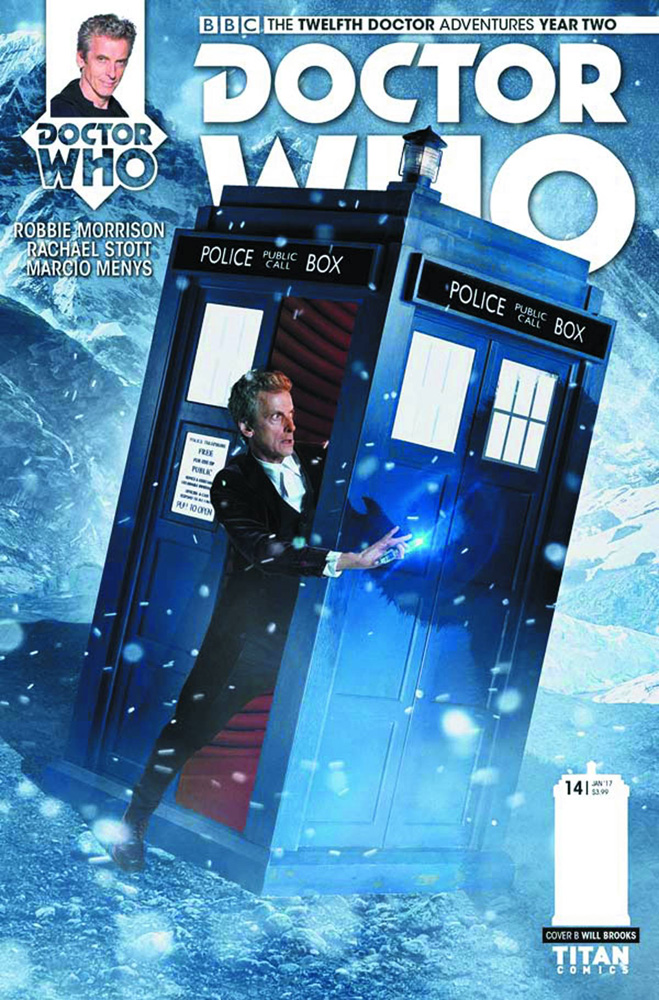Image: Doctor Who: 12th Doctor - Year Two #14 (cover B - Photo)  [2016] - Titan Comics