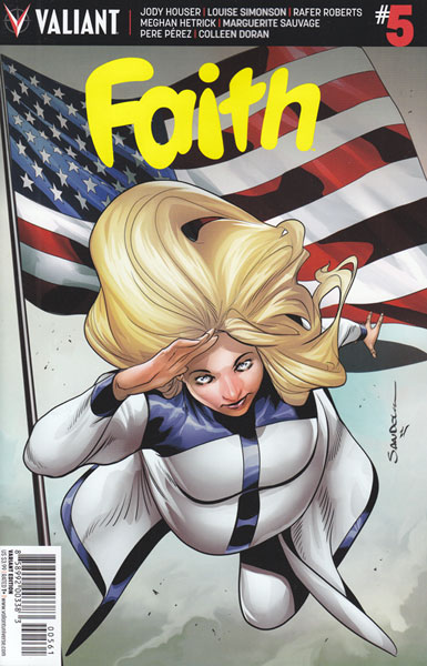 Image: Faith [2016] #5 (Sandoval inventive cover - 00561) (20-copy)  [2016] - Valiant Entertainment LLC