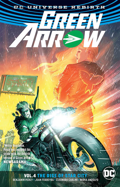 Image: Green Arrow Vol. 04: The Rise of Star City  (Rebirth) SC - DC Comics