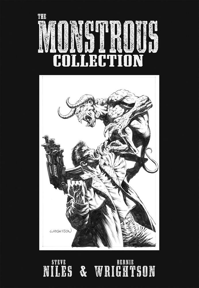 Image: Monstrous Collection of Steve Niles & Bernie Wrightson SC  - IDW Publishing
