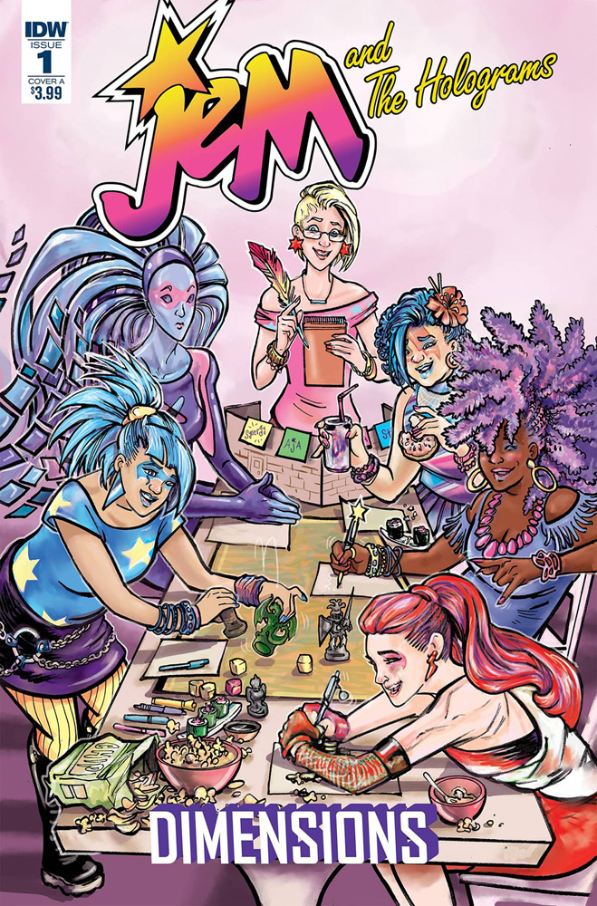 Image: Jem and the Holograms: Dimensions #1 (cover A - Ford)  [2017] - IDW Publishing