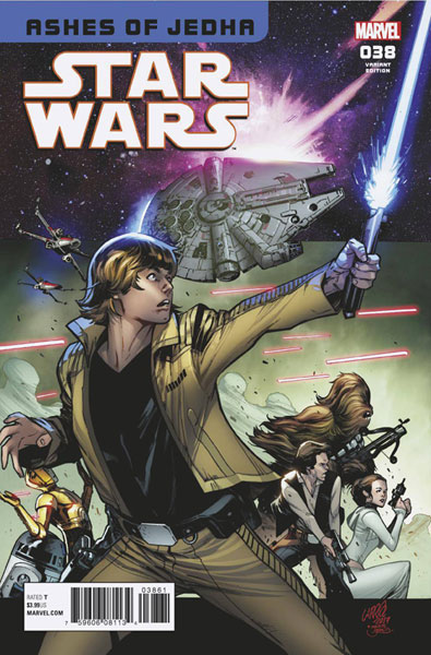Image: Star Wars #38 (variant Homage cover - Larraz)  [2017] - Marvel Comics