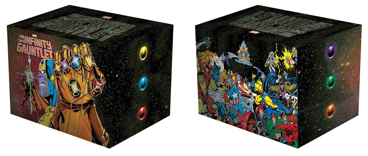 Image: Infinity Gauntlet Box Set Slipcase HC  - Marvel Comics