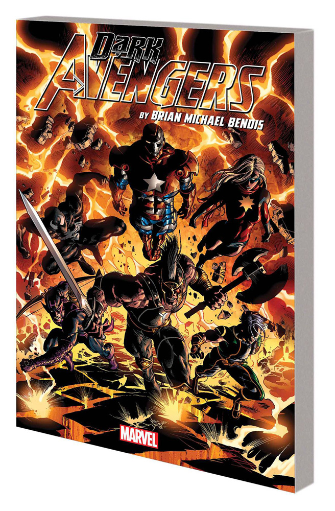 Image: Dark Avengers by Brian Michael Bendis: The Complete Collection SC  - Marvel Comics
