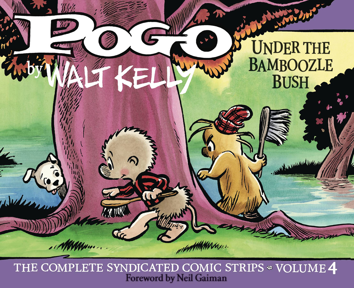 Image: Pogo: The Complete Syndicated Strips Vol. 04 - 1955-1956: Under the Bamboozle Bush HC  - Fantagraphics Books