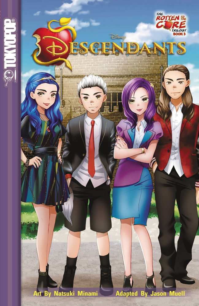 Image: Disney Descendants: The Rotten to the Core Trilogy Vol. 03 SC  - Tokyopop