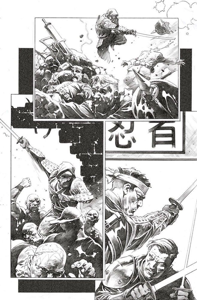 Ninja-K #1 (cover A - Hairsine)  [2017] - Valiant Entertainment LLC