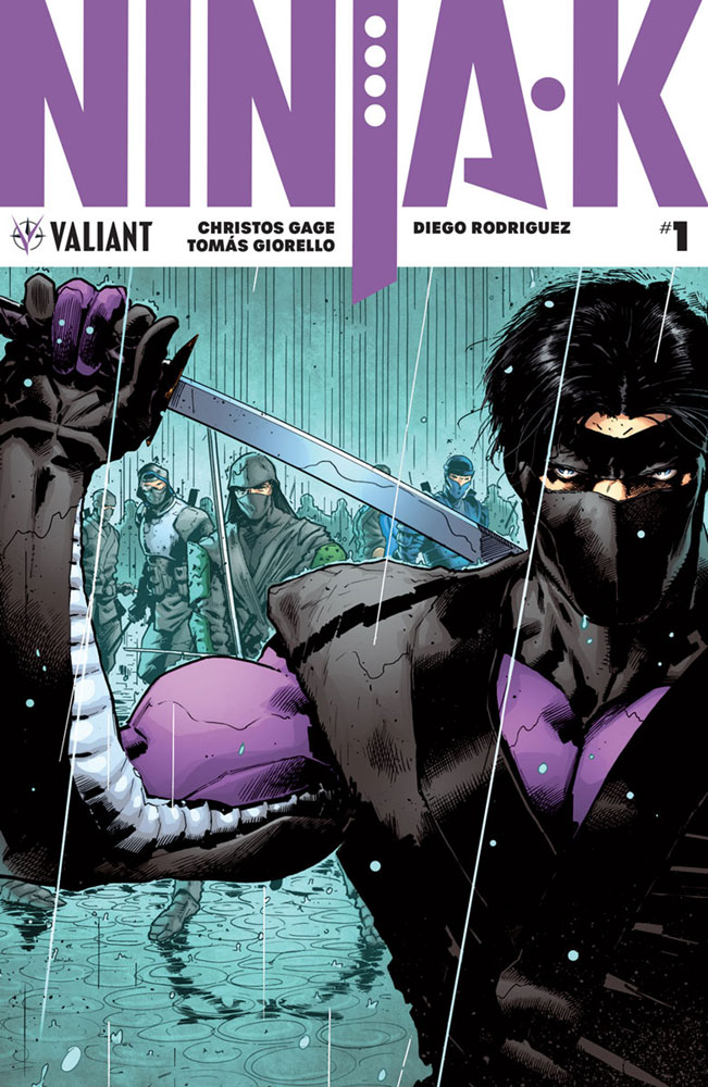 Image: Ninja-K #1 (cover A - Hairsine)  [2017] - Valiant Entertainment LLC