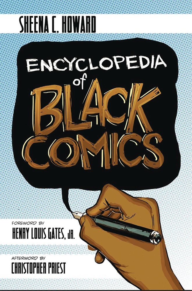 Image: Encyclopedia of Black Comics SC  - Fulcrum Publishing