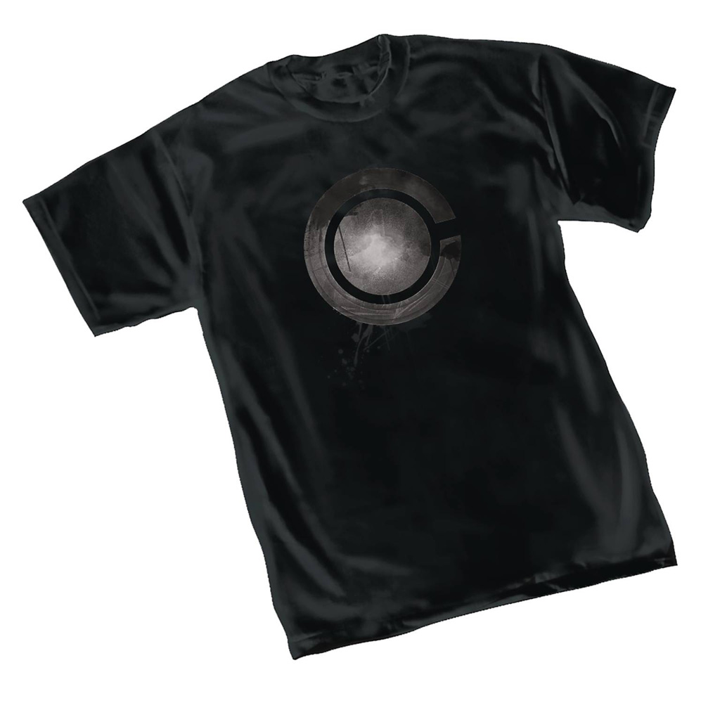 Image: Justice League T-Shirt: Cyborg Symbol  (XXL) - Graphitti Designs