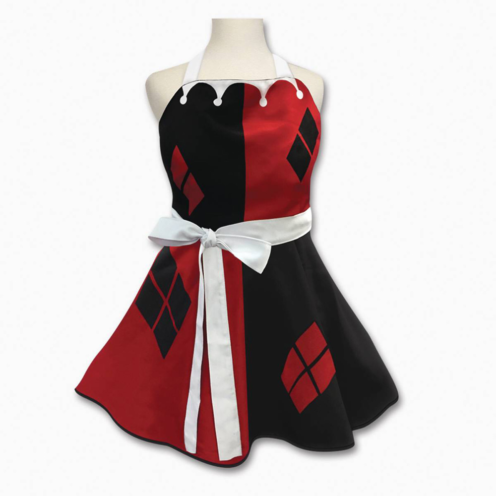 Image: DC Heroes Character Apron: Harley Quinn  - Icup Inc