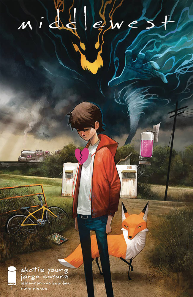 Middlewest #1 cover by Mike Huddleston