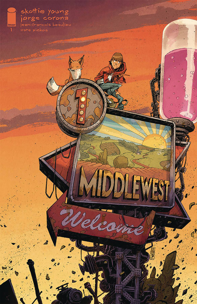 Middlewest #1 Jorge Corona variant cover